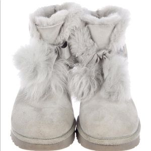 UGG Australia Suede Ankle Boots